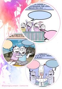 Exemples illustrations BD mariage à remplir