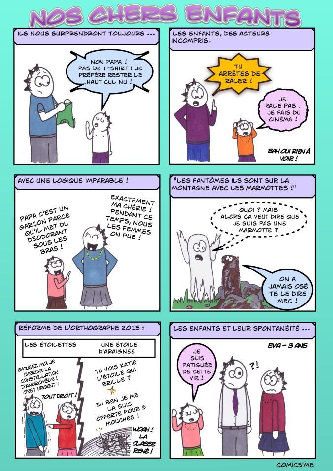 Quand nos enfants décident de s'exprimer !