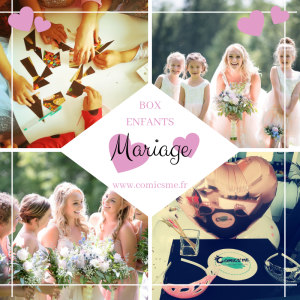 box mariage pour enfants comics'me